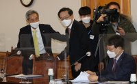 Financial group leaders and ruling party meet to discuss Korea New Deal