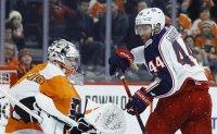 Konecny helps Flyers send Blue Jackets to 6th straight loss
