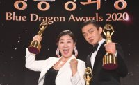'The Man Standing Next' wins best picture at Blue Dragon Awards