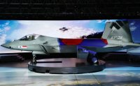 Locally developed KF-21 Boramae fighter jet unveiled
