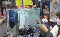 Face masks, hygiene products running out amid virus fears