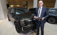 Kia's Telluride named North American utility vehicle of the Year