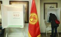 Voting at Kyrgyz embassy