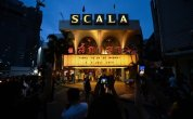 Fans gather for final showings at Thailand's much-loved La Scala theater