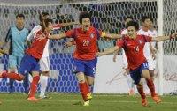 South Korea beats NK on dramatic last-minute goal