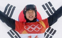 South Korean snowboarder wins silver in men's parallel giant slalom