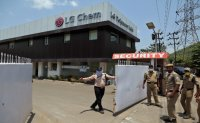 India accident testing LG Chem's crisis management