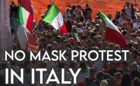 No mask!: Do Italians think Covid-19 is a lie?