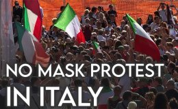 No mask!: Do Italians think Covid-19 is a lie? [VIDEO]