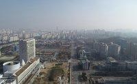 Fine dust blankets Korea