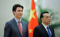China slams Trudeau remarks on death penalty case