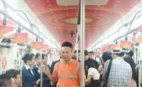 All aboard Beijing's presidential train decorated with propaganda