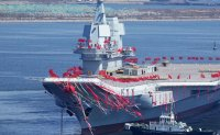 China's new aircraft carrier may start sea trials this week
