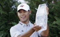 Korean golfer Kim Si-woo wins The Players Championship