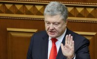 Ukrainian president warns of threat of 'full-scale war' with Russia