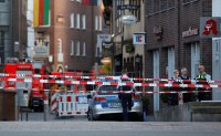Man drives van into restaurant in Germany, killing two plus himself