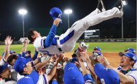 Korea wins 3rd straight baseball gold medal