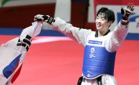 Another golden day in taekwondo, fencing