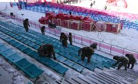 Freezing weather expected for Olympic opening ceremony