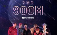 BTS's 'DNA' music video tops 900 mln YouTube views
