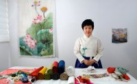 Saeksil Nubi: colorful quilting