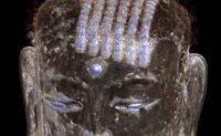 Scripture found inside Buddha statue's head