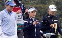 Park Sung-hyun, Kim Min-sun, Minjee Lee in 3-way lead in LPGA KEB Hana Bank Championship