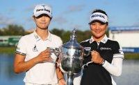 Park Sung-hyun sweeps 3 LPGA awards