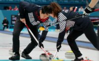 Korea suffers 5-6 loss to Russians in Curling mixed doubles