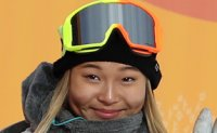 Snowboarding prodigy Chloe Kim off to flying debut in PyeongChang