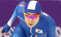 Speed skater Lee sets Korean record in 10,000m