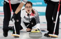 Korea's female curlers even at 1-1, luge racers place ninth in relay