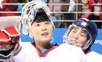 Team Korea loses to Switzerland in ice hockey