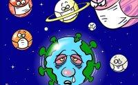 Barnstorming coronavirus humbles humans