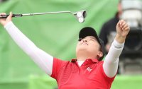 1st Olympic women's golf champ in 116 years