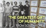 A gift package from Korea that nearly brought Americans to tears [VIDEO]