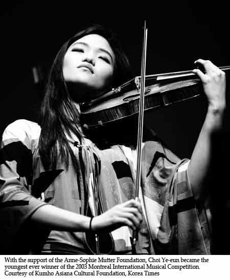 Rise of Korean female violinists