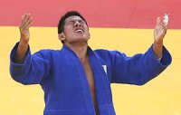 Kim Jae-bum wins judo gold at 2nd attempt