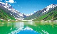 Himalayan peaks showcase stark natural wonders