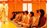 Korea's isolated Buddhism opening doors