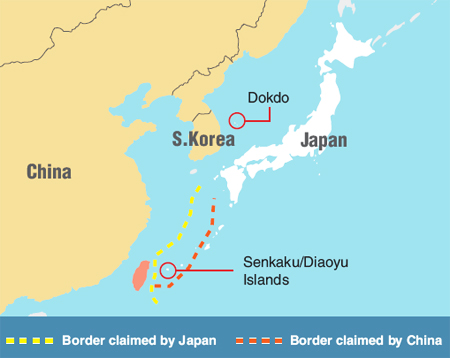 Territorial disputes reveal japans weakness 09191104g sciox Images