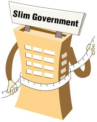 [Slim Government] Lee Seeks Small Government, Big Market