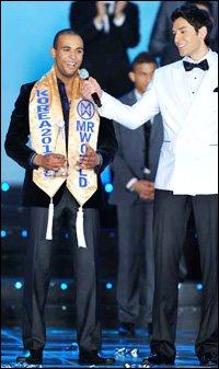 Ireland's Ibrahim Named Mr World 2010