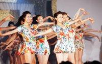 Beauty queens cheer for PyeongChang