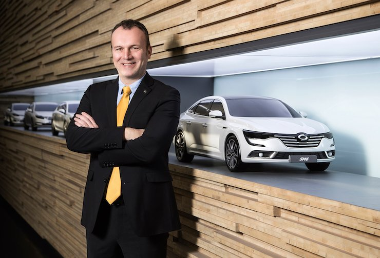 <span>New Renault Samsung CEO Dominique Signora / Courtesy of Renault Samsung</span><br /><br />