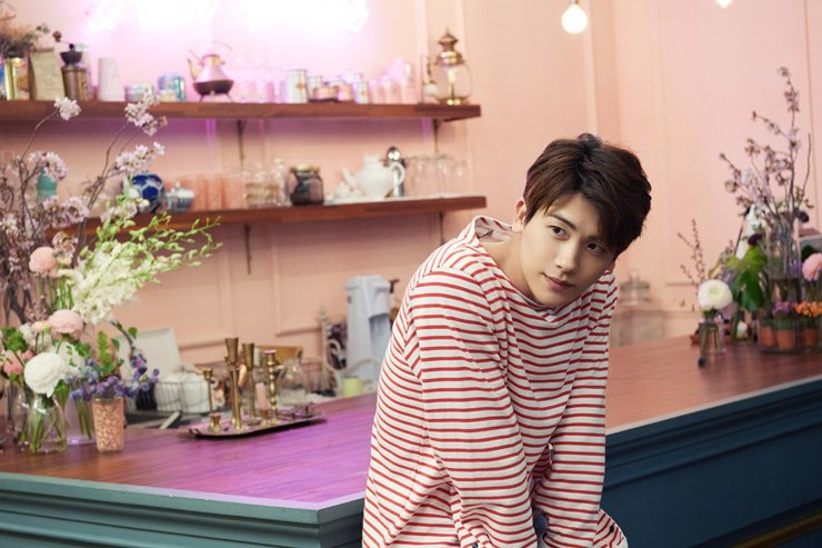 Actor Park Hyung-sik speaks on his first male lead role, young gaming company CEO, in the recentlyh ended JTBC's romantic comedy 'Strong Woman Do Bong-soon,' during an interview with The Korea Times, at a cafe in southern Seoul, Wednesday. /Courtesy of UAA