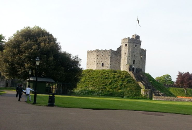 Cardiff Castle                                                                / Courtesy of Choi Yearn-hong