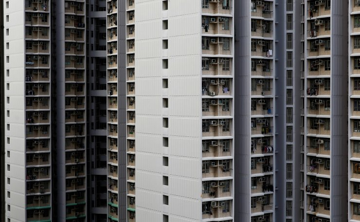 A general view shows residential apartment blocks in Hong Kong, China, June 28, 2019. Reuters