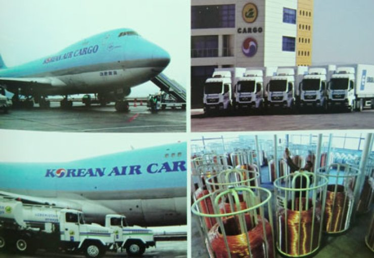 Multimodal transport and logistics hub of Navoi is run by the Korean Air. / Courtesy of Uzbek Embassy
