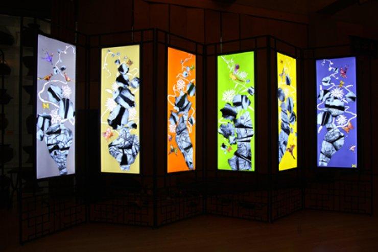 Han Ki-chang's 'Roentgen's Garden' at London's 2013 Korea Brand & Entertainment Expo